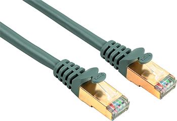 Ağ Kablosu CAT5E STP Altın Uç Gri 1.5m