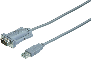 Adaptör Serial RS-232 USB A Fiş - 9pin D Fiş 2m