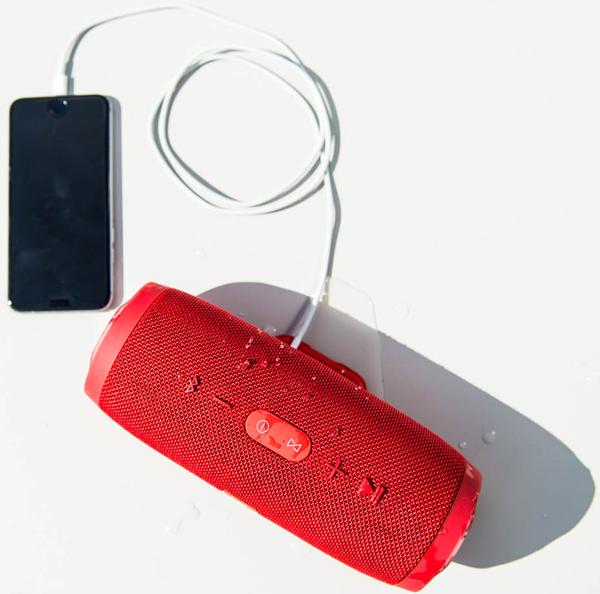 CHARGE3, Bluetooth Hoparlör, IPX7, Teal