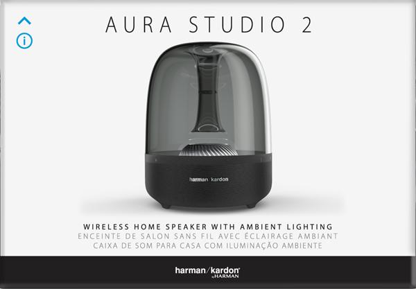 AuraStudio 2, Bluetooth Hoparlör, Siyah