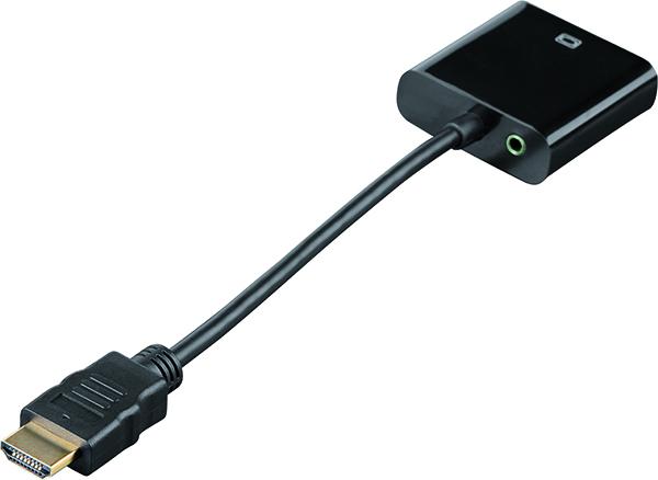 Adaptör HDMI - VGA Dönüştürücü