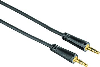 3.5mm - 3.5mm, Stereo Altın Uç Siyah 3S 3m