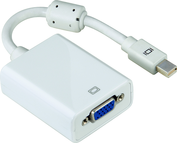 Adaptör Mini DisplayPort Fiş - VGA Soket