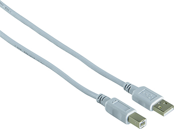 USB 2.0 A Fiş - B Fiş Gri 1.5m