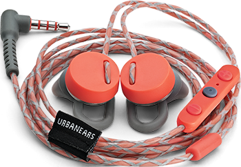 Urbanears, Reimers, Control Talk, Rush Apple