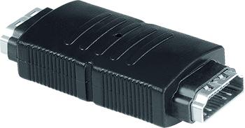 Adaptör HDMI Soket - Soket Siyah